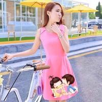 Đầm nữ dạo phố DU11780