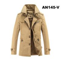 Áo khoác kaki nam lót lông AN145-V