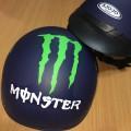 BH29 - Nón mũ bảo hiểm họa hình MONSTER