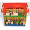 Thiết bị cho bộ đồ chơi nhà búp bê 2 tầng to Alengkeng MT36