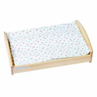 Đồ chơi gỗ giường búp bê có đệm Alengkeng MT34