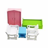 Bộ đồ chơi trẻ em bàn ghế giường tủ Alengkeng MT39