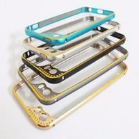 Ốp viền nhôm iPhone 5 5S Lens Protector mẫu 2