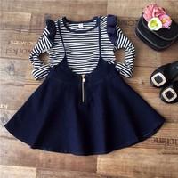 Bộ áo và váy cho bé gái 2 đến 7 tuổi V262
