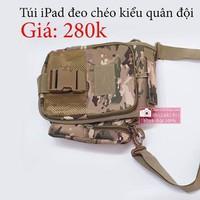 Túi iPad kiểu quân đội