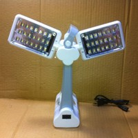ĐÈN ĐỂ BÀN TGX-6052 42 LED SÁNG 2 CHIỀU, XOAY ĐƯỢC DÙNG PIN SẠC