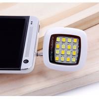 Đèn led vuông flash mini hỗ trợ chụp hình cho điện thoại