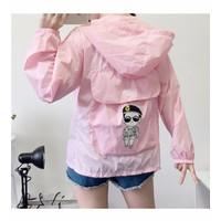 áo khoác dù phối nón song jong ki Mã: AO2650 - 1