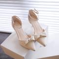 Giày cao gót 5 phân nơ xinh