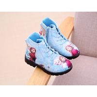 Giày bốt họa tiết công chúa  Elsa Z-103