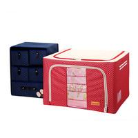 Combo 2 tủ đa năng khung cứng chống thấm thu gọn nhà cửa