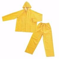 Quần áo mưa bảo hộ màu vàng 1 lớp