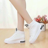Hàng loại 1 giày bata nữ đế cao