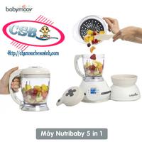 Máy xay hấp Babymoov Nutribaby 5 in 1 CSB201014