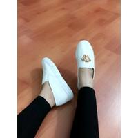 HÀNG NHẬP CAO CẤP - Giày bata nữ chất da mềm