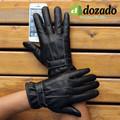 Găng tay da cảm ưng lót nỉ cao cấp