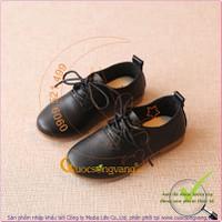 Giày bé gái hạt đậu đế kếp chống trượt GLG037-BEGAI