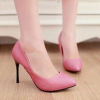HÀNG LOẠI I CAO CẤP - Giày cao gót cách điệu xẻ eo