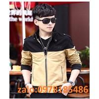 áo khoác kaki 2 màu Hàn Quốc
