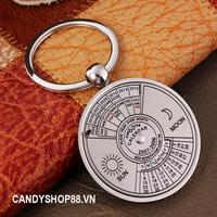 Móc khóa lịch vạn niên candyshop88.vn - combo 2 móc khóa độc lạ