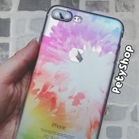 Ốp dẻo trong hoa văn iPhone 6 6Plus 7 7Plus