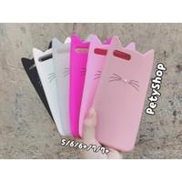 Ốp Mèo râu iPhone 5 5S SE 6 6S 6Plus 6S Plus 7 7Plus