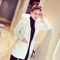 Áo khoác nữ dài tay ấm áp - AV030