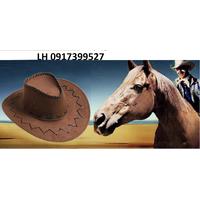 Mũ nón phớt mũ cao bồi nam nữ L12RV18