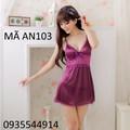 Váy ngủ nữ tính gợi cảm AN103