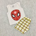 Bộ Spider man người nhện đáng yêu cho bé trai