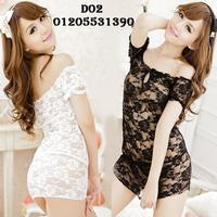 Váy Ngủ Sexy Ren D02