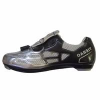 Giày xe đạp đua road Tiebao TB51 Bạc