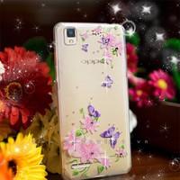 Ốp lưng Oppo F1 A35 dẻo hình hoa