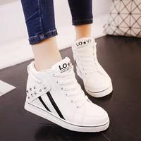 Giày nữ nâng đế cá tính phong cách Hàn Quốc - SG0353