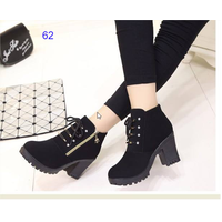 Giày boot nữ phong cách cá tính B062