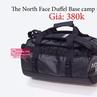 Túi trống - balo the north face dufel XS