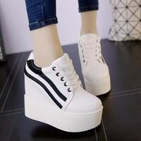 Giày nữ nâng đế dễ thương phong cách Hàn Quốc - SG0350