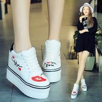 Giày nữ nâng đế dễ thương thời trang Hàn Quốc - SG0351