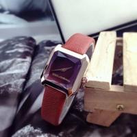 Đồng hồ nữ D-G dây da mặt vuông NU36