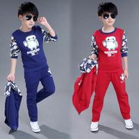 Bộ bé trai thu đông + áo khoác cá tính cho bé