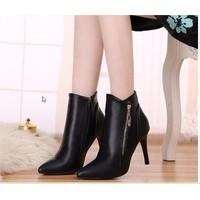 Giày boot nữ phong cách cá tính B063