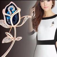 Cài áo hoa hồng - CA009
