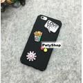 Ốp full lưng viền logo iPhone 6 6S 6Plus 6S Plus 7 7 Plus