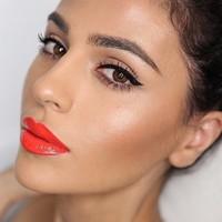 Son Hàn Màu Đỏ Cam Botte Lipstick 02