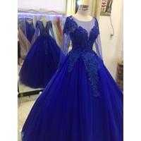 áo cưới tay dài ren giá mềm