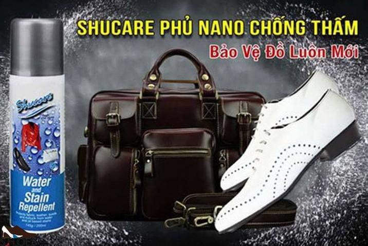 Bình xịt Nano chống thấm - Shucare 3