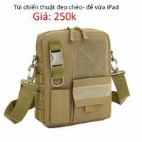 Túi đựng ipad chiến thuật D5- để được iPad