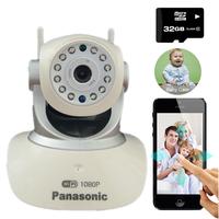 Camera IP WIFI Không Dây HS-6100 + Thẻ nhớ 32GB