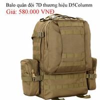 Balo Chiến Thuật 7D thương hiệu D5Columm