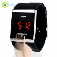 Đồng hồ Led Skmei cảm ứng min DHA156-D0492 - Đen